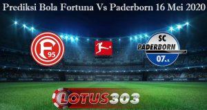 Prediksi Bola Fortuna Vs Paderborn 16 Mei 2020