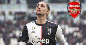 The Gunners Siap Angkut Adrien Rabiot Dari Juventus