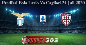 Prediksi Bola Lazio Vs Cagliari 24 Juli 2020