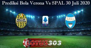 Prediksi Bola Verona Vs SPAL 30 Juli 2020