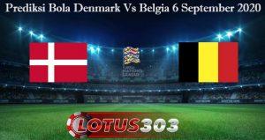 Prediksi Bola Denmark Vs Belgia 6 September 2020