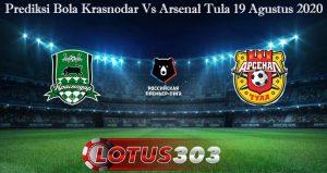 Prediksi Bola Krasnodar Vs Arsenal Tula 19 Agustus 2020