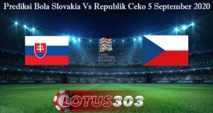 Prediksi Bola Slovakia Vs Republik Ceko 5 September 2020
