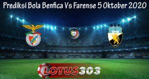 Prediksi Bola Benfica Vs Farense 5 Oktober 2020