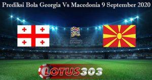 Prediksi Bola Georgia Vs Macedonia 9 September 2020