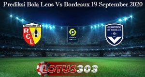 Prediksi Bola Lens Vs Bordeaux 19 September 2020