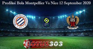 Prediksi Bola Montpellier Vs Nice 12 September 2020