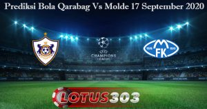 Prediksi Bola Qarabag Vs Molde 17 September 2020