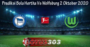 Prediksi Bola Hertha Vs Wolfsburg 2 Oktober 2020
