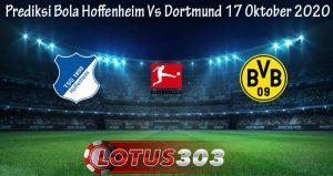 Prediksi Bola Hoffenheim Vs Dortmund 17 Oktober 2020