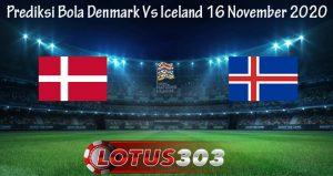 Prediksi Bola Denmark Vs Iceland 16 November 2020