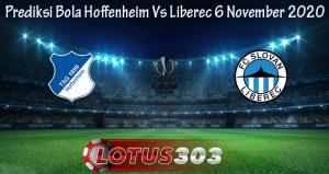 Prediksi Bola Hoffenheim Vs Liberec 6 November 2020