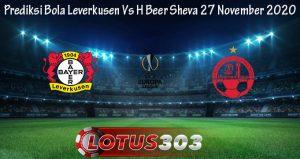 Prediksi Bola Leverkusen Vs H Beer Sheva 27 November 2020