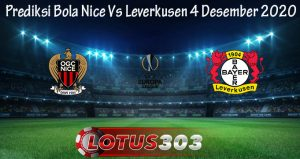 Prediksi Bola Nice Vs Leverkusen 4 Desember 2020