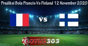 Prediksi Bola Prancis Vs Finland 12 November 2020