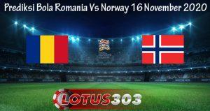 Prediksi Bola Romania Vs Norway 16 November 2020