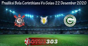Prediksi Bola Corinthians Vs Goias 22 Desember 2020
