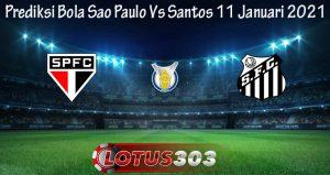 Prediksi Bola Sao Paulo Vs Santos 11 Januari 2021
