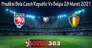 Prediksi Bola Czech Republic Vs Belgia 28 Maret 2021
