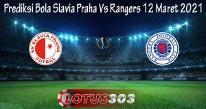 Prediksi Bola Slavia Praha Vs Rangers 12 Maret 2021